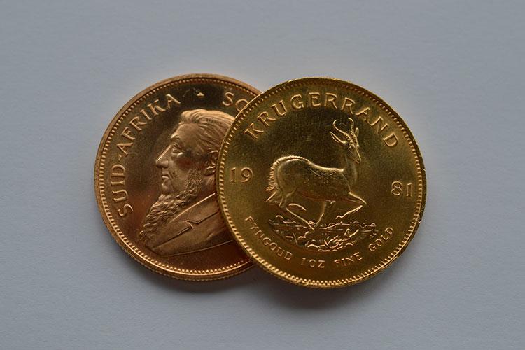 Krügerrand Münze verkaufen