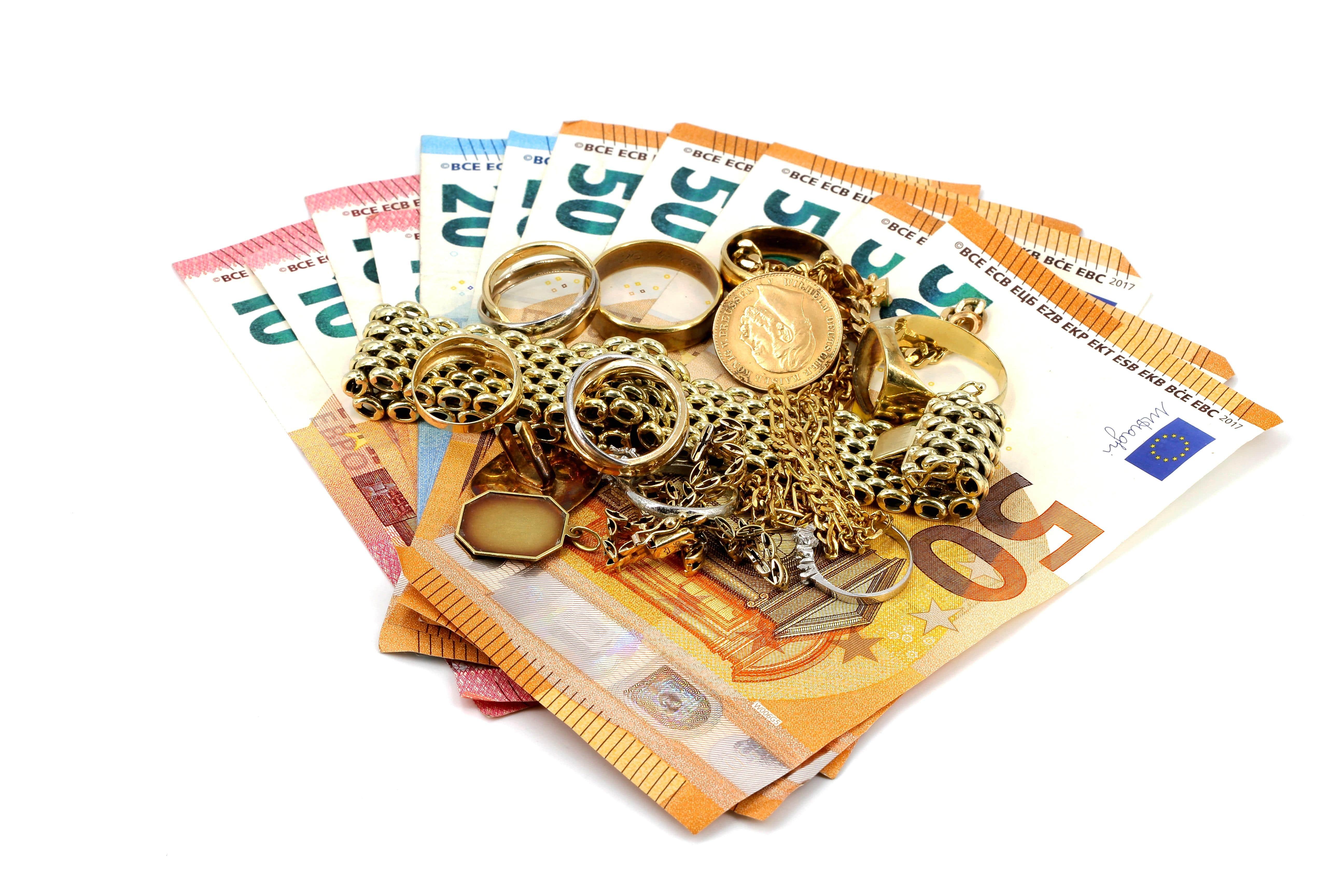 Goldkurs in Euro