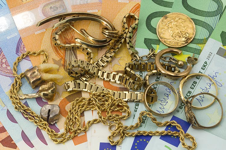 Altgold Ankauf und verkaufen