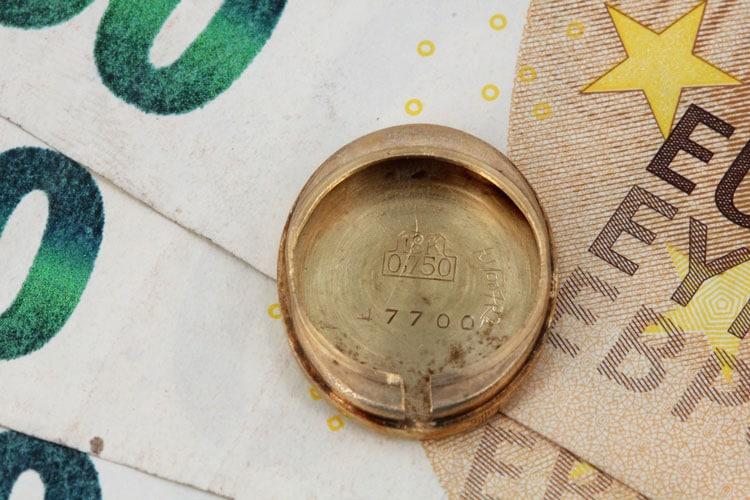 Goldpreis 750 er 18 Karat