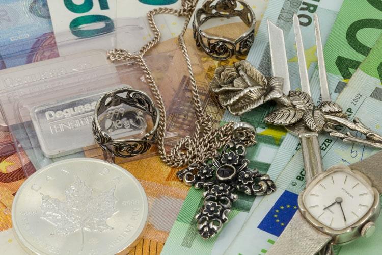 Silberpreis Ankauf Verkauf aktuell
