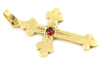Goldkette mit Kreuz verkaufen