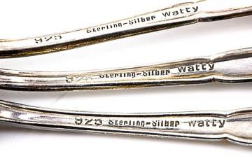 Silberbesteck 925 Sterling Silber