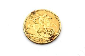 Beschädigte Goldmünzen sind Altgold