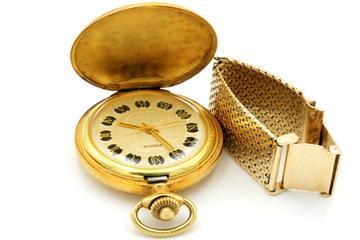 Defekte Golduhren sind Altgold