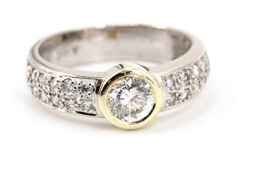 Diamantschmuck und Edelstein verkaufen