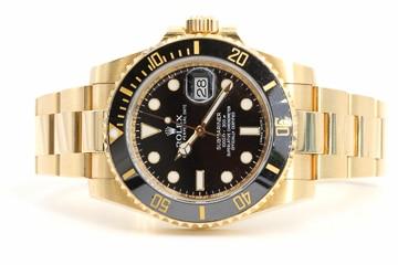 Rolex Submariner 18 Karat Gold