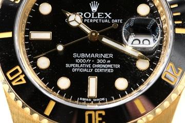 Rolex Submariner Schriftzug