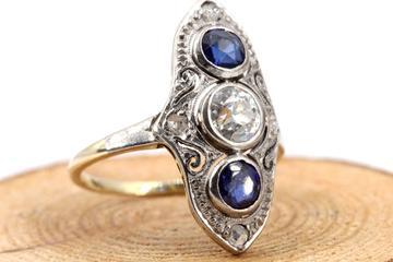 Saphir Ring verkaufen